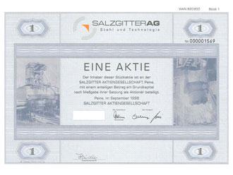 Aktie Salzgitter